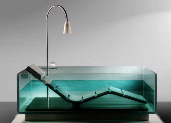 traumbäder glas badewanne liege dusche