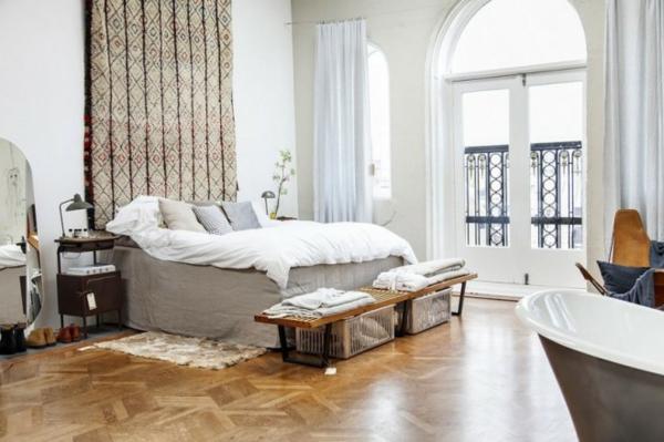 traumhäuser Amsterdam Loft schlafzimmer einrichten