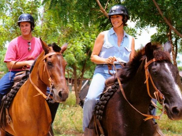 traumurlaub karibik pferd reiten casa de campo