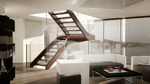 Treppen architektur design  Stilvolle Treppen und Treppenhäuser aus Glas von Siller