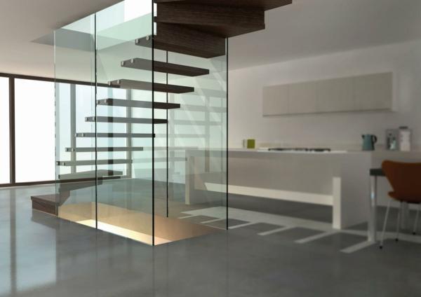 treppe glas siller mistral design