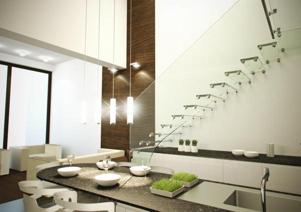 treppe glas siller treppengeländer singapour