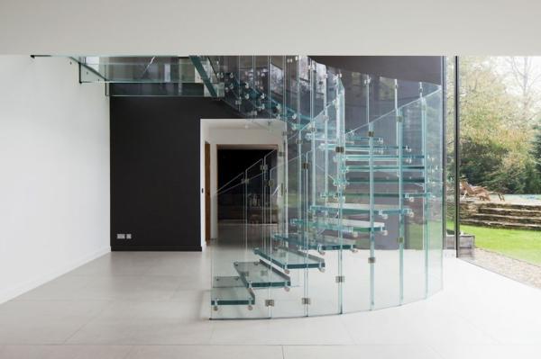 treppe glas siller wendeltreppe