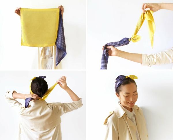 Schal binden leicht gemacht einfache schalbindetechniken - Hermes tuch binden ...