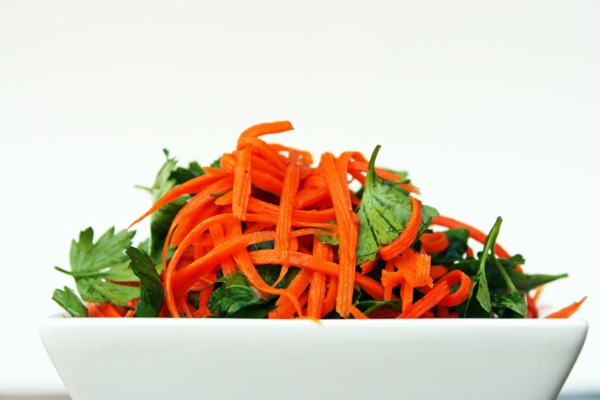 vitamintabelle petersilie möhren salat