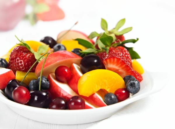 vitamintabelle vitamine obstsalat