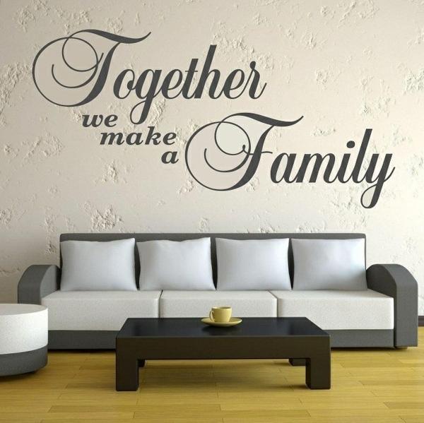 wand deko tolle wandgestaltung wohnzimmer