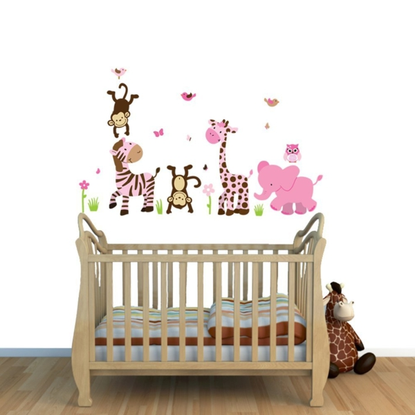 kinderzimmer wanddekor m belideen. Black Bedroom Furniture Sets. Home Design Ideas