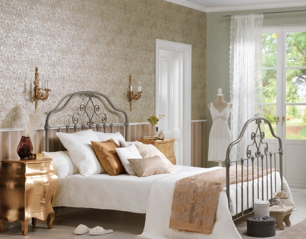 barock tapete stil aus alten zeiten in zeitgen ssischer form. Black Bedroom Furniture Sets. Home Design Ideas