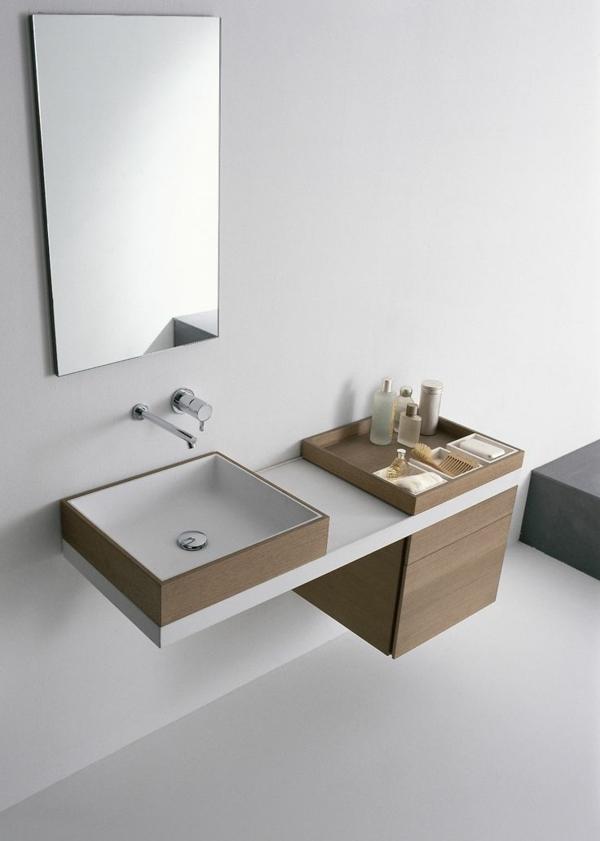 waschtischarmaturen moderne badeinrichtung waschbecken armatur wandspiegel