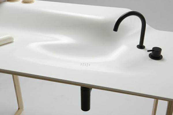 waschtischarmaturen moderne waschbecken armatur schwarz