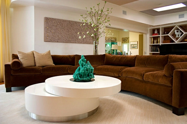 Sofakissen Peppen Nicht Nur Das Sofa Sondern Auch Den Gnzen Raum Auf Braunes Wohnzimmer Aufpeppen