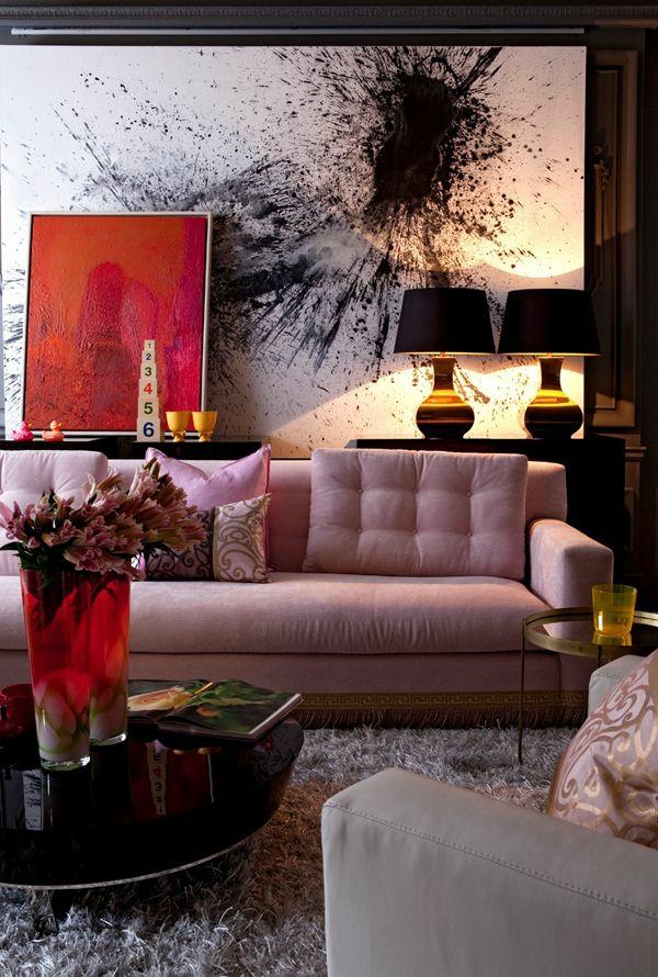 Wohnzimmer Neu Gestalten Ideen Kunst