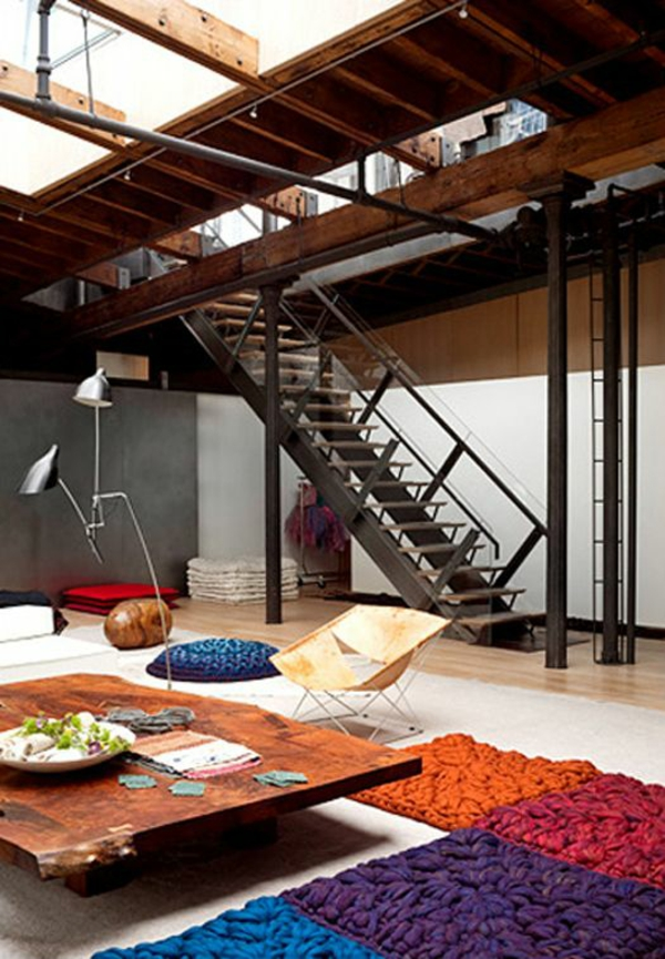 treppe gestalten idee. Black Bedroom Furniture Sets. Home Design Ideas
