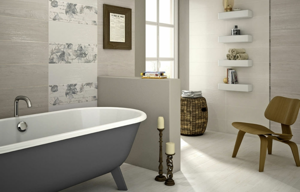 woodwall white wall badewanne grau textur