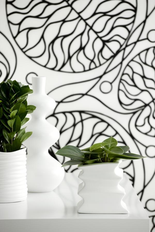 zimmerpflanzen modern schöne blumentöpfe deko ideen