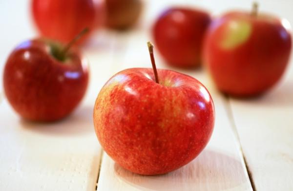 äpfel essen rote äpfel früchte