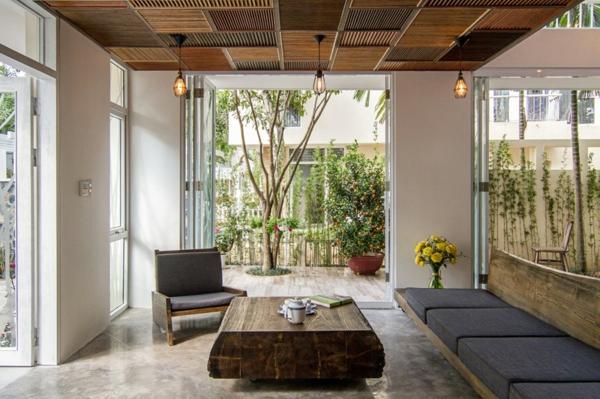 AHL architects wohnung elegantes wohnzimmer rustikal