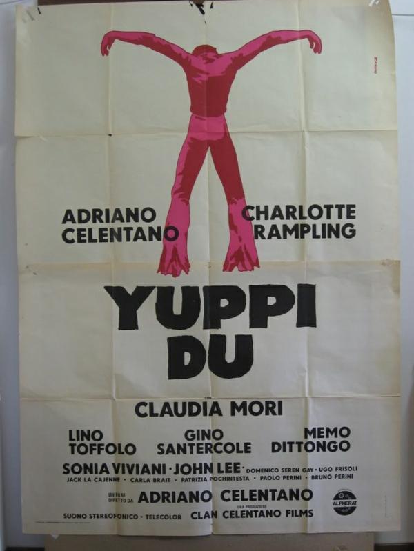 italienische sänger und schauspieler Celentano Film yuppi du
