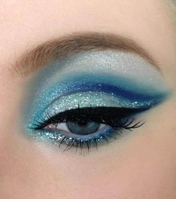 Augen Make Up Schritt für Schritt augen schminken lidschatten auftragen