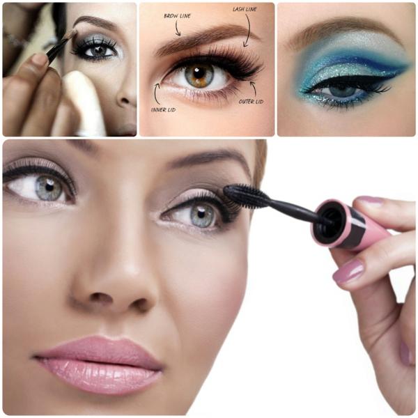 Augen Make Up Schritt für Schritt augen schminktipps
