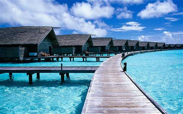 Cocoa Island Malediven luxushotels design ferienhaus