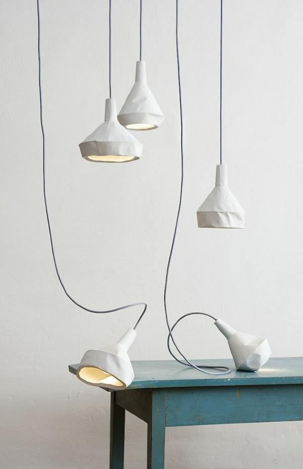 DUA design papier look designer lampen