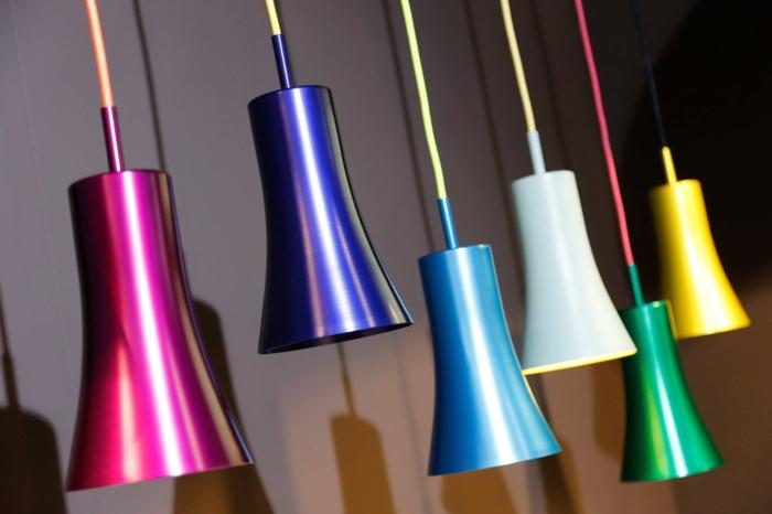 IMM Köln koelnmesse 2015 möbel trends farbige pendelleuchten pure