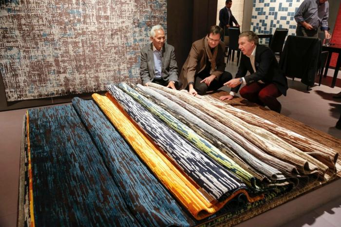 IMM Köln koelnmesse 2015 möbel trends teppiche pure