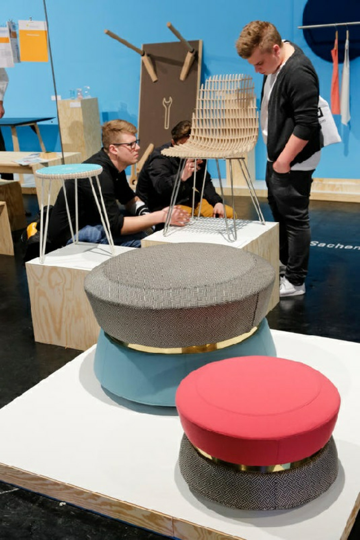 IMM Köln koelnmesse möbel trends hocker