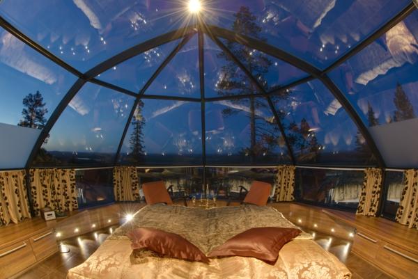 Kakslauttanen Igloo Village finnland luxushotels design ferienhaus innendesign