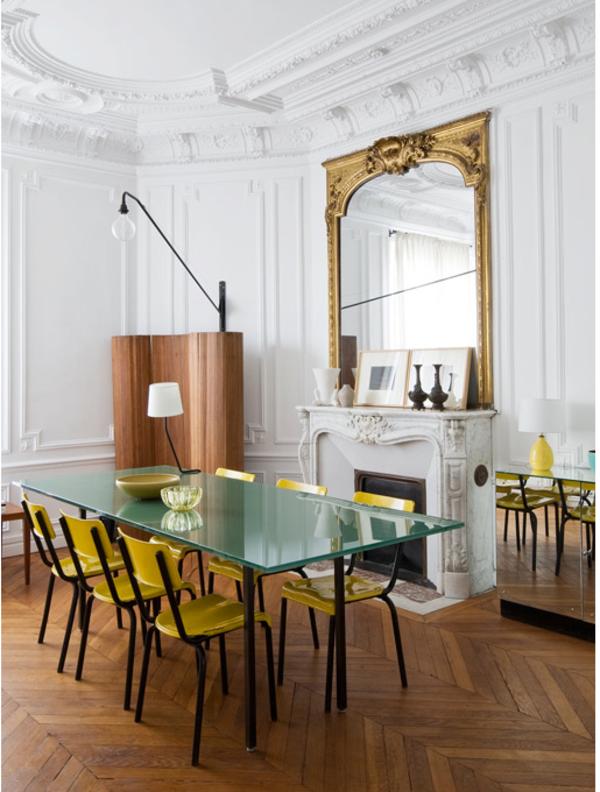 Kreative Wohnideen Luis Laplace einrichtungstipps esszimmertisch mit stühlen