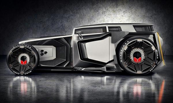 Lamborghini Rat Rod concept cars autowelt automodelle