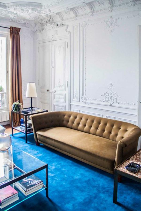 Luis Laplace Kreative Wohnideen einrichtungstipps teppichboden blau