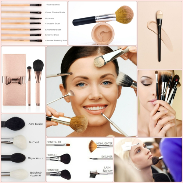Make up Pinsel Set kosmetikpinsel set