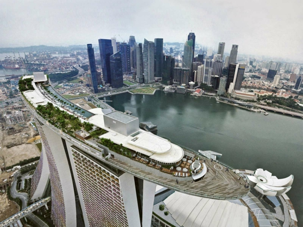 Marina Bay Sands Singapur luxushotels design ferienhaus