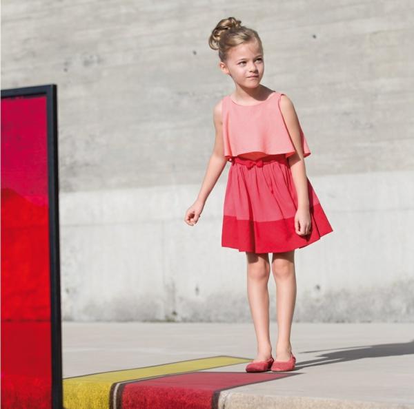 aktuelle modetrends festliche kindermode mädchen kleid pili carrera