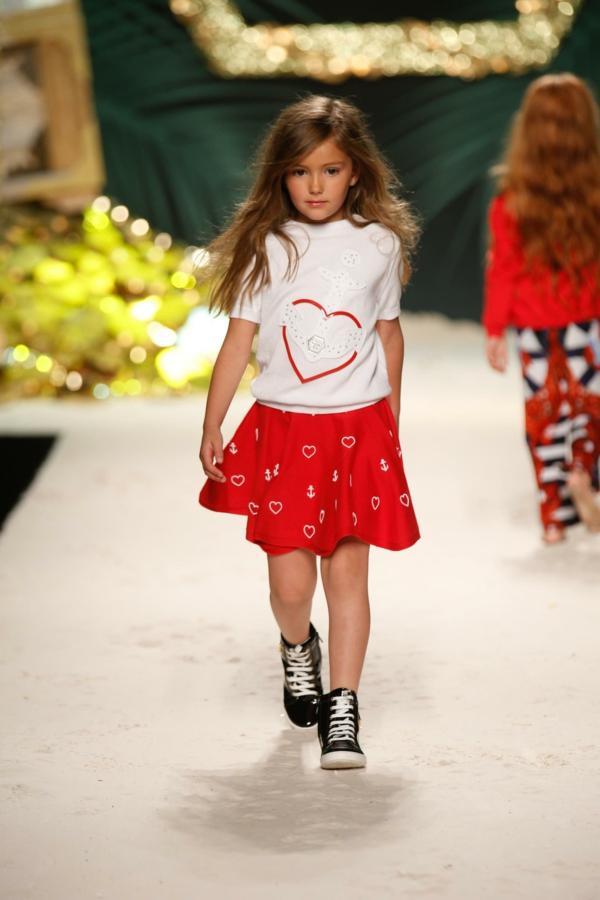 aktuelle modetrends kindermode mädchen kleid philipp plein