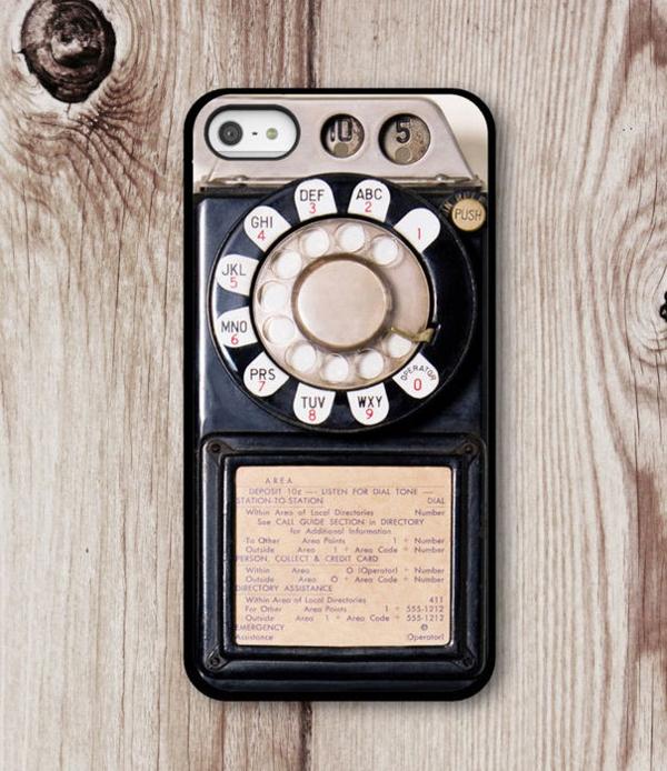 ausgefallene ideen telefon etui altmodisch