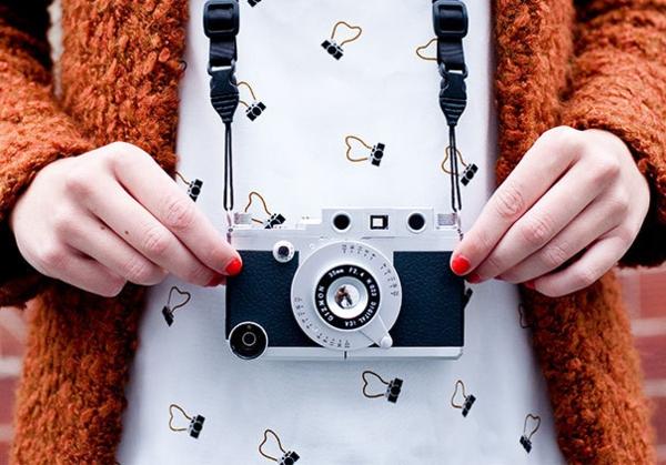 ausgefallene ideen telefon etui fotoapparat
