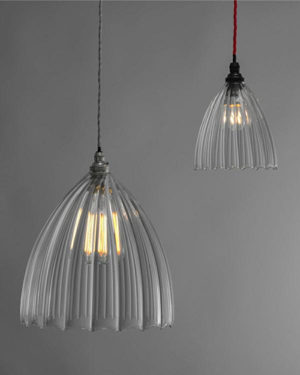Ausgefallene hängelampen  Lampenschirme Glas -Aus Glas gefertigte Lampenschirme sind so charmant
