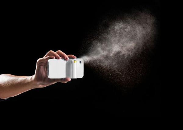 ausgefallenes telefon etui spray design