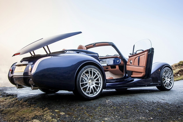 automarke morgan aero exklusives design