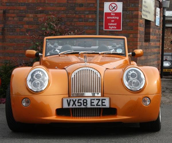 automarke morgan aero orange