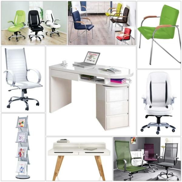 Büroeinrichtung planen  Büroeinrichtung: schön und praktisch darf es sein