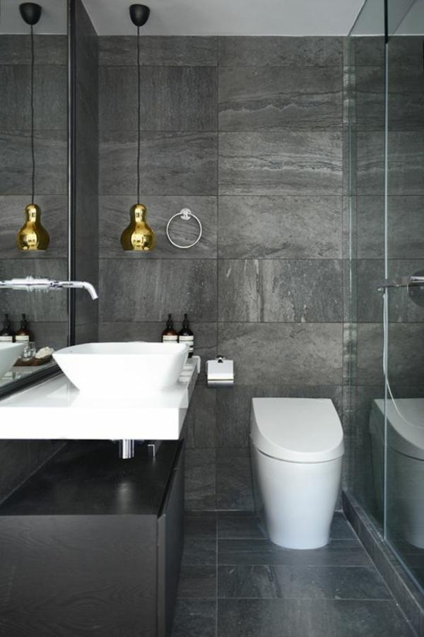 Moderne badezimmermöbel grau  Badezimmergestaltung Ideen, die gerade voll im Trend liegen
