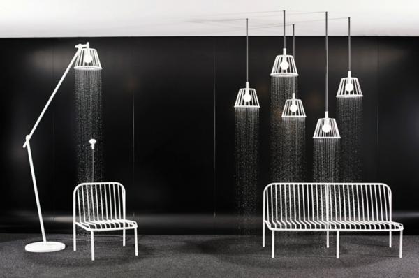 badezimmergestaltung ideen modernes design futuristisch