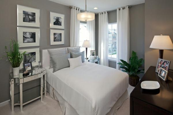 Besorgen Sie Sich Blickdichte Vorhänge In Weiß Für Ihr Schlafzimmer ...