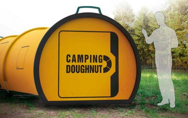 camping zelte: in der zukunft zelten wir mit dem camping doughnut, Hause ideen