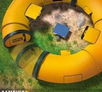 Camping Zelte: in der Zukunft zelten wir mit dem Camping Doughnut